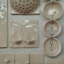 kachlíky na mýdlo a drobnosti, mističky