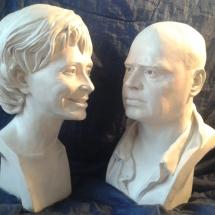 portrét dámy a pána