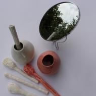 kalabasy a bombilly se zrcadlem